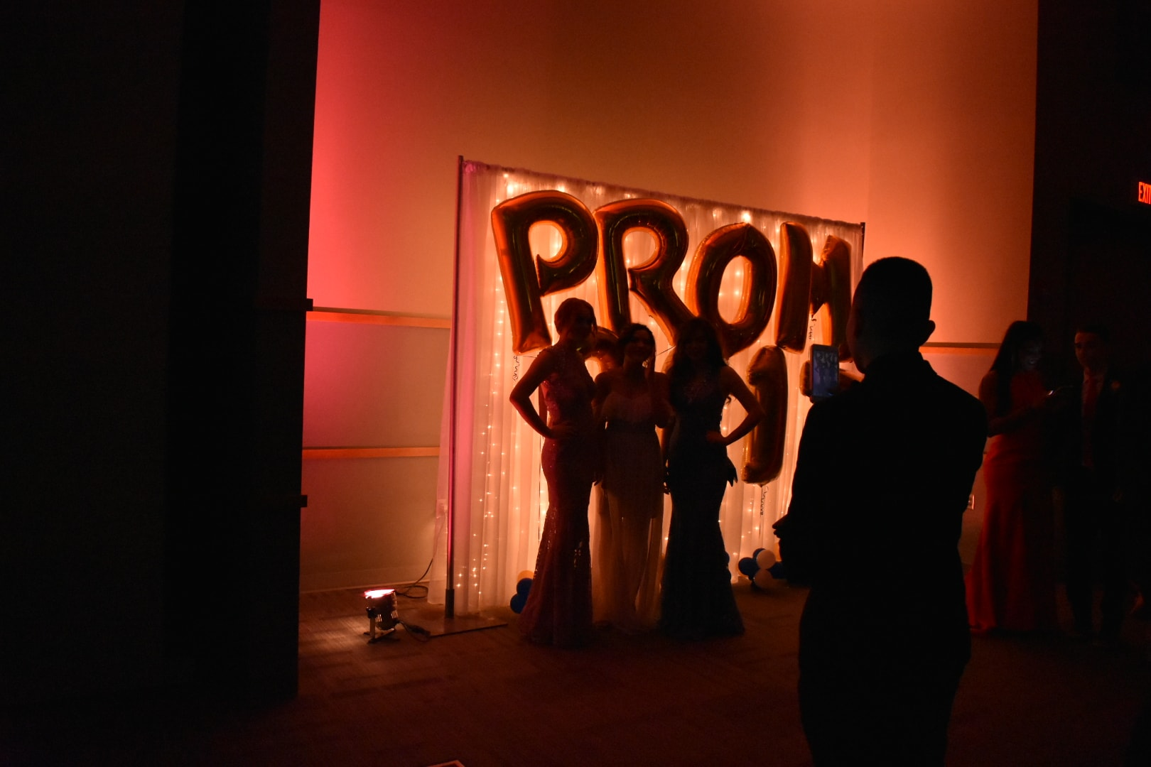 Ball Hosts Olathe North Prom!