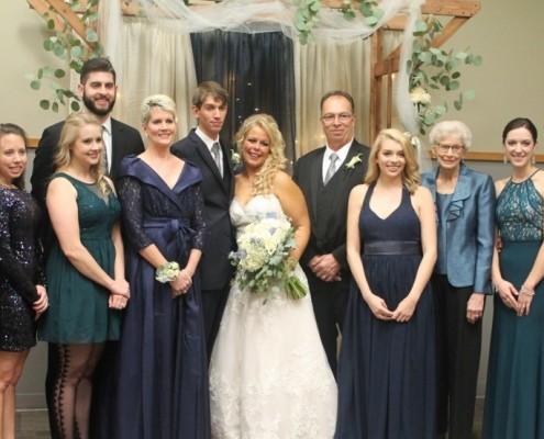 Ball Conference Center Dombrowski Wedding
