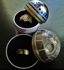 Star Wars rings