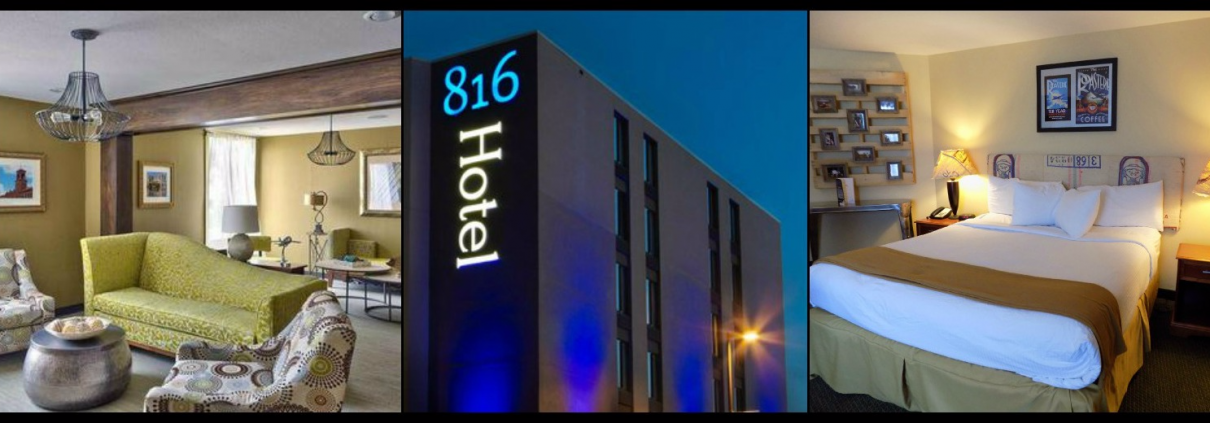 Win a Night at the 816 Hotel and Limo Ride!
